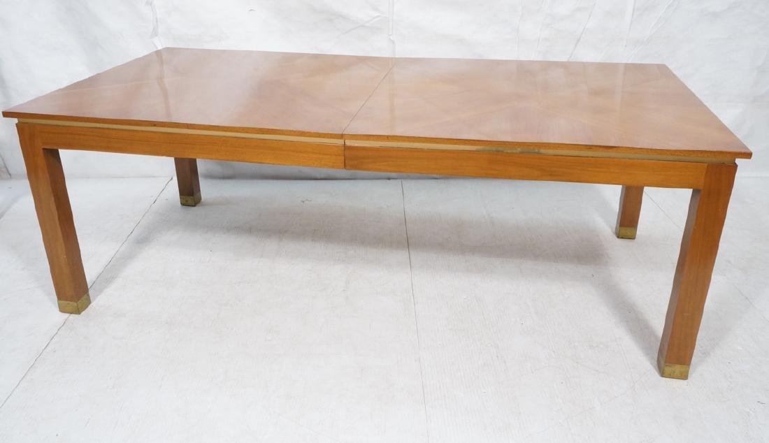 MILO BAUGHMAN Style Lg Walnut Dining Table. Decor