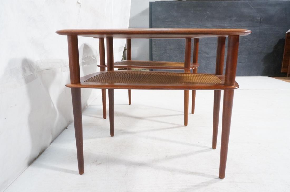 Pr FRANCE & SONS by PETER HVIDT Teak Tables. 2 We - 4