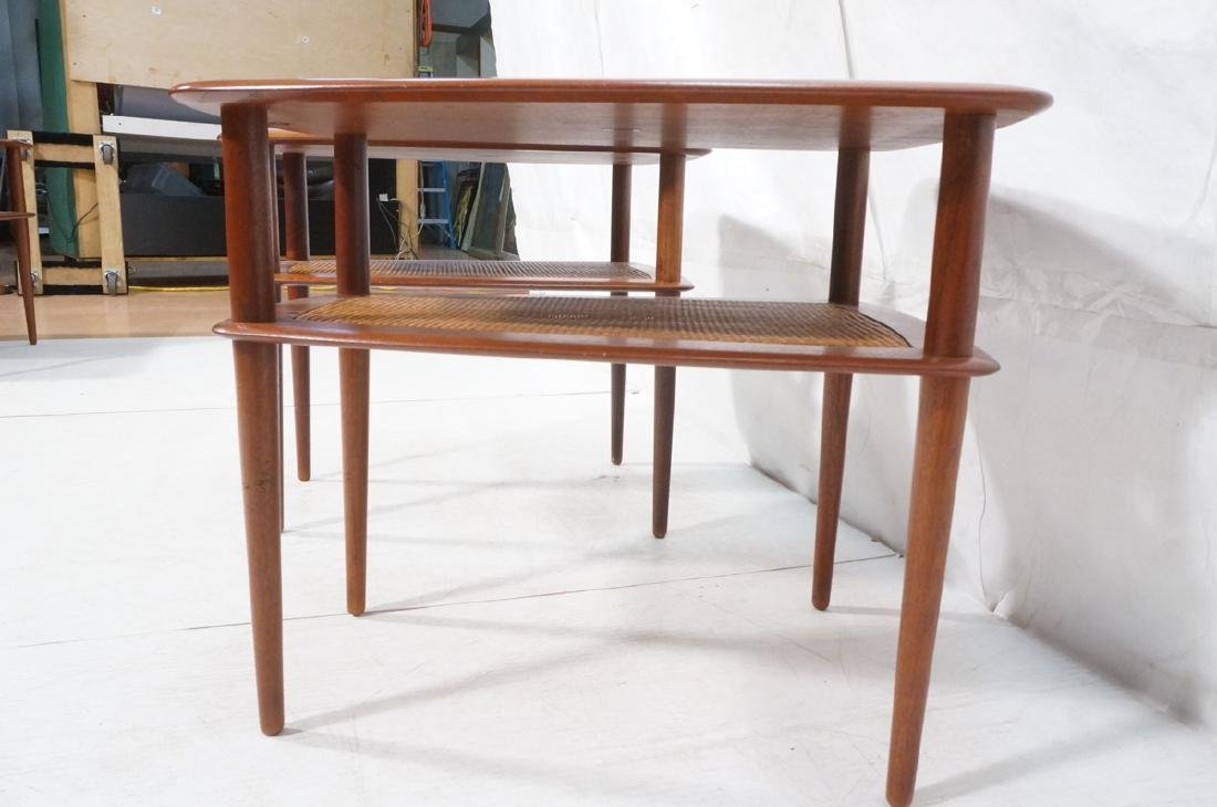 Pr FRANCE & SONS by PETER HVIDT Teak Tables. 2 We - 6