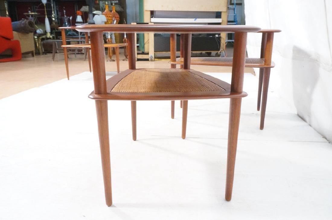 Pr FRANCE & SONS by PETER HVIDT Teak Tables. 2 We - 7