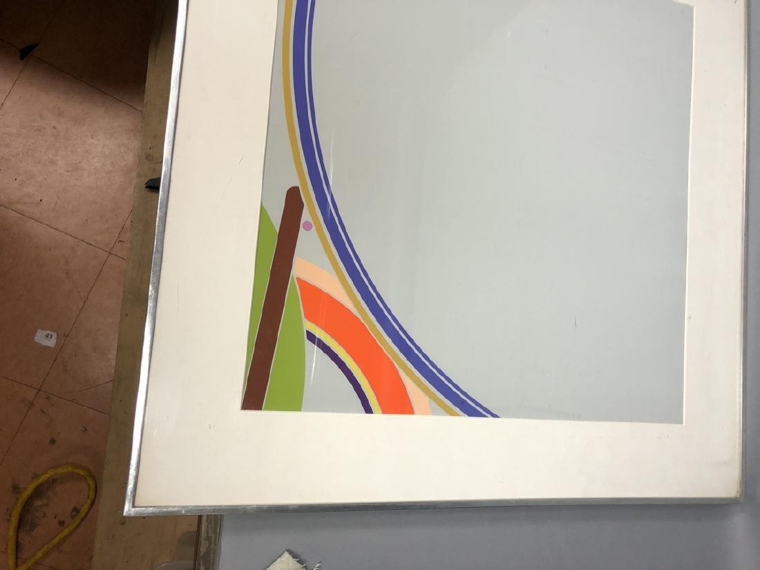 PURCELL Graphic Modernist Silkscreen Print. Gray - 4