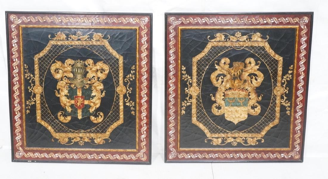 Pr Heraldry Crest Wall Plaques. Maitland smith st