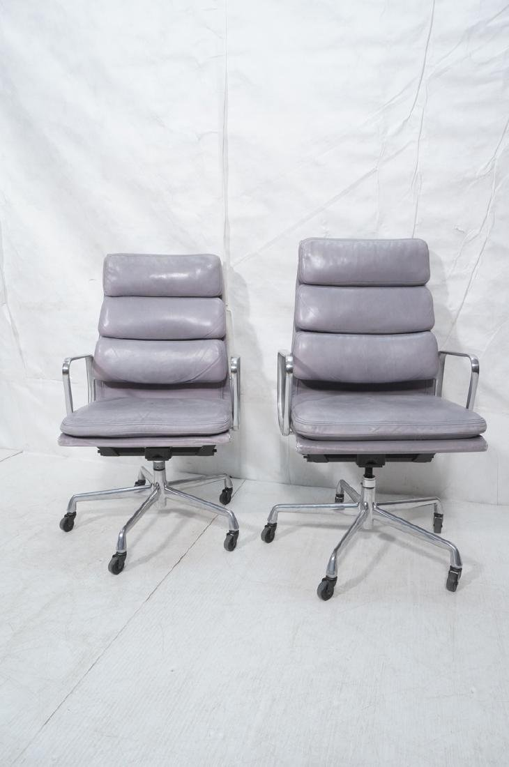 Pr CHARLES EAMES Aluminum Group Office Chairs. Me - 2