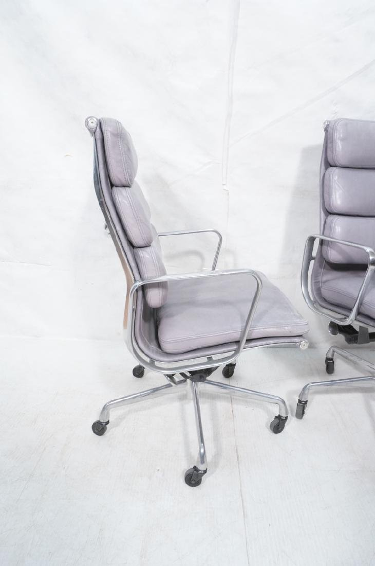 Pr CHARLES EAMES Aluminum Group Office Chairs. Me - 3