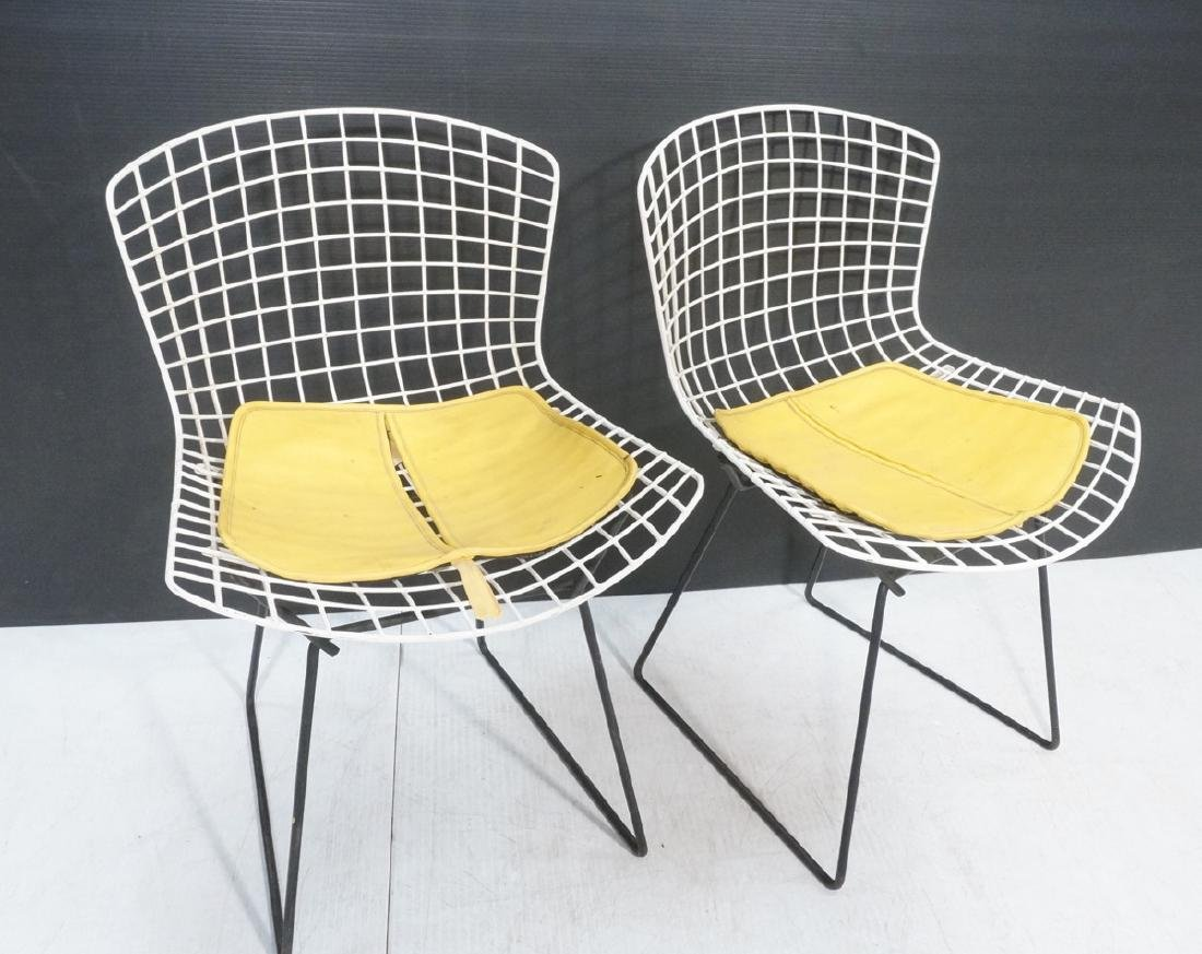 KNOLL by HARRY BERTOIA Grid Shell Chairs. White g