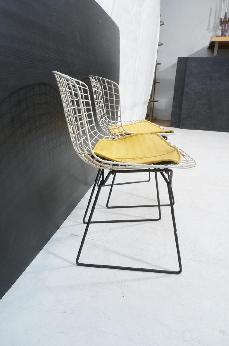 KNOLL by HARRY BERTOIA Grid Shell Chairs. White g - 2