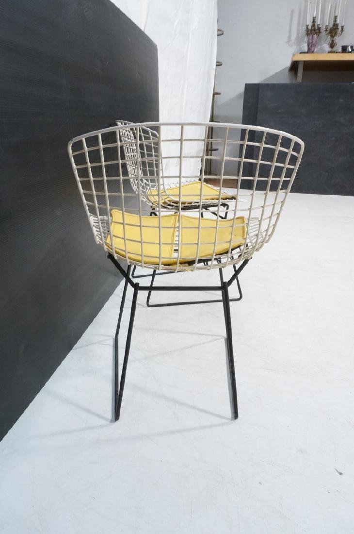 KNOLL by HARRY BERTOIA Grid Shell Chairs. White g - 3