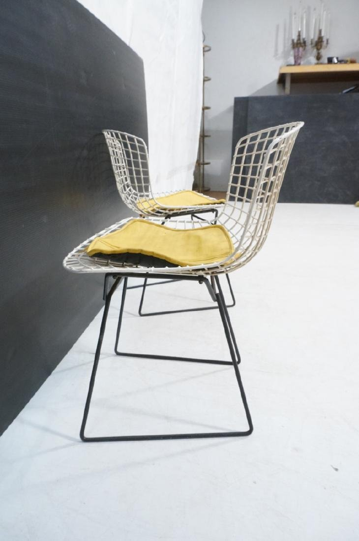 KNOLL by HARRY BERTOIA Grid Shell Chairs. White g - 4