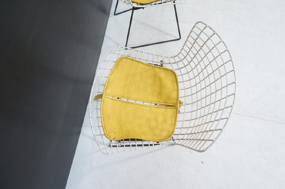 KNOLL by HARRY BERTOIA Grid Shell Chairs. White g - 5