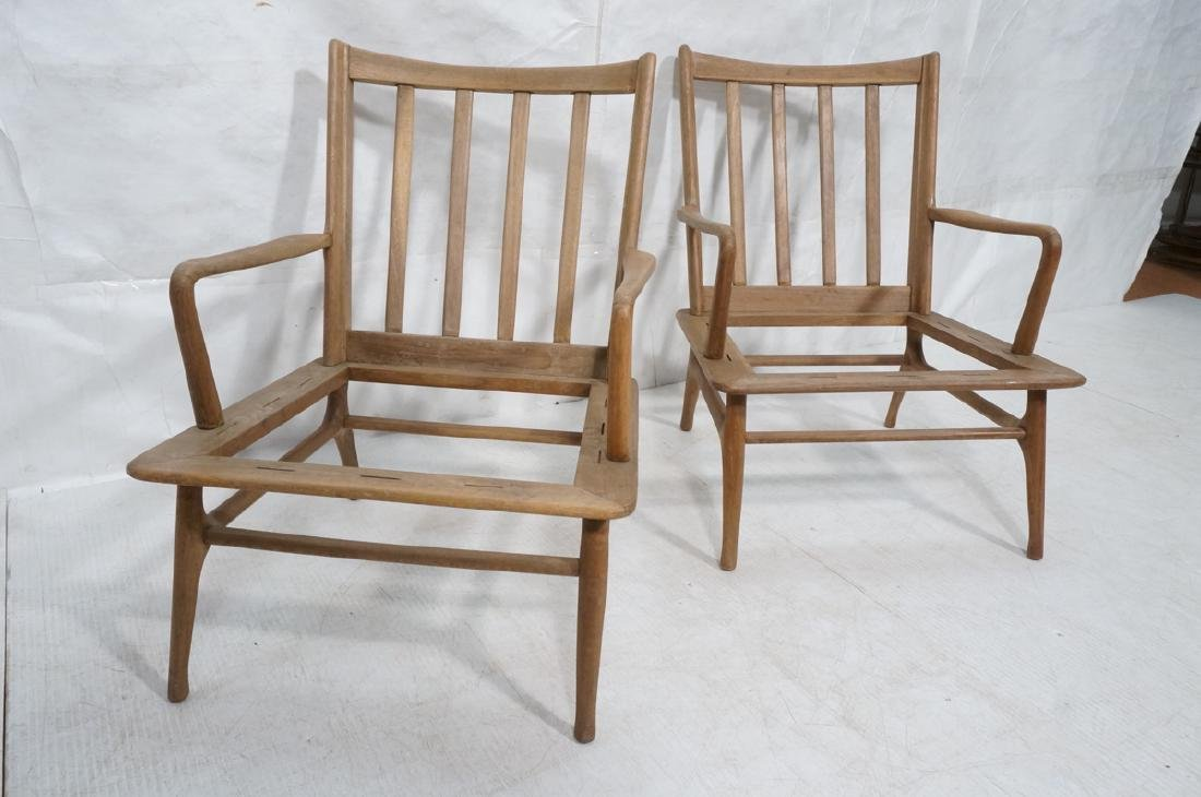 Pr Modernist Lounge Chair frames. Open arms.  Ita - 2