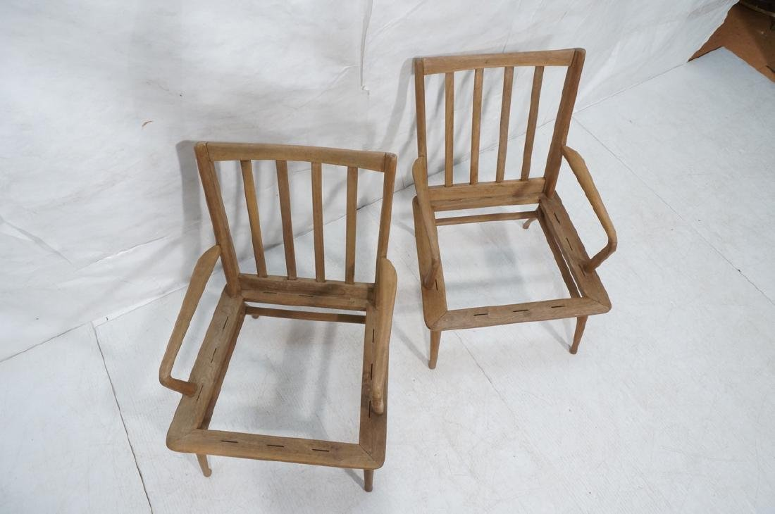 Pr Modernist Lounge Chair frames. Open arms.  Ita - 3