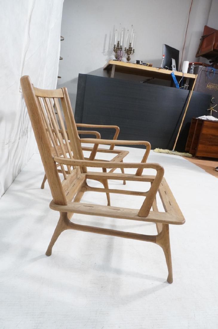 Pr Modernist Lounge Chair frames. Open arms.  Ita - 4