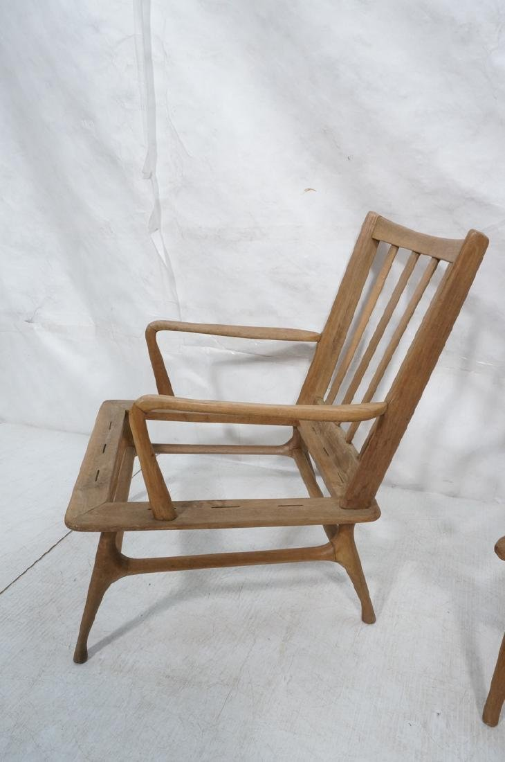 Pr Modernist Lounge Chair frames. Open arms.  Ita - 5