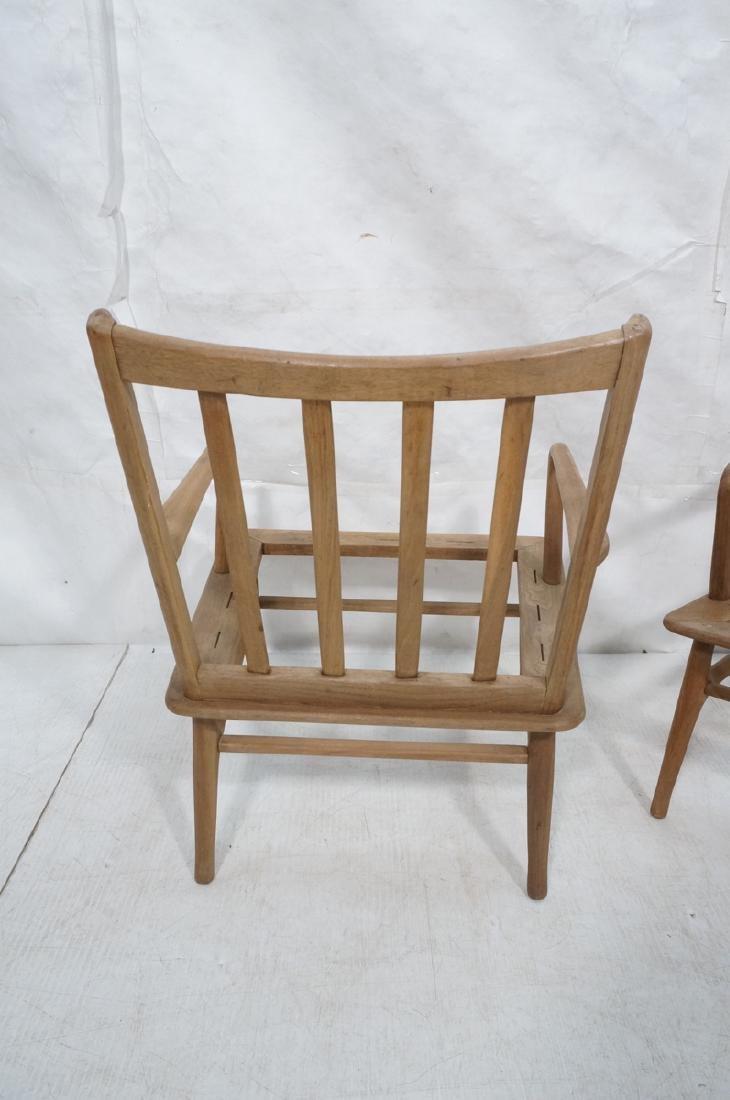Pr Modernist Lounge Chair frames. Open arms.  Ita - 6
