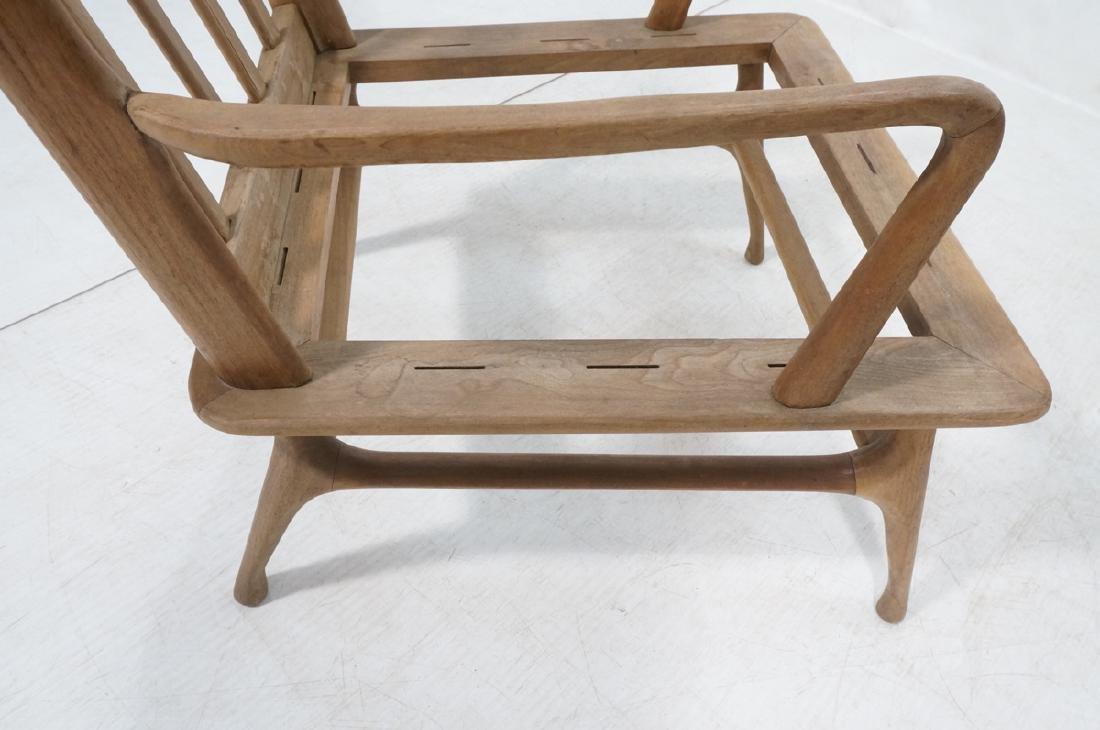Pr Modernist Lounge Chair frames. Open arms.  Ita - 8