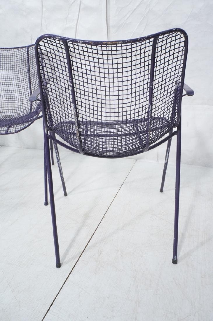 6 Purple RUSSELL WOODARD  Patio Chairs. Mesh shel - 7
