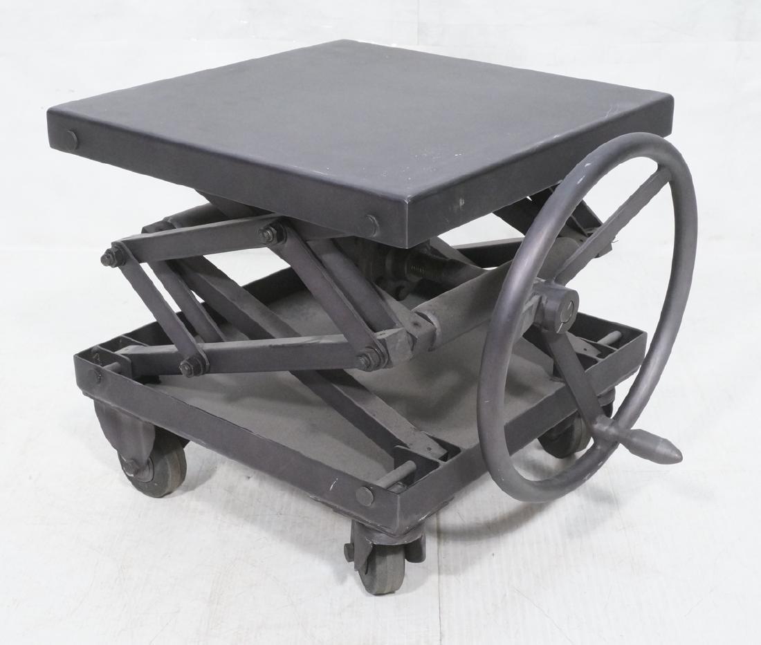 Restoration Hardware Industrial Side Table. Heavy