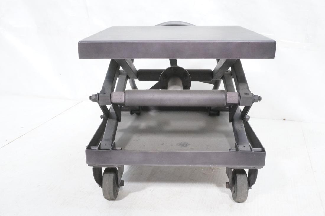 Restoration Hardware Industrial Side Table. Heavy - 5