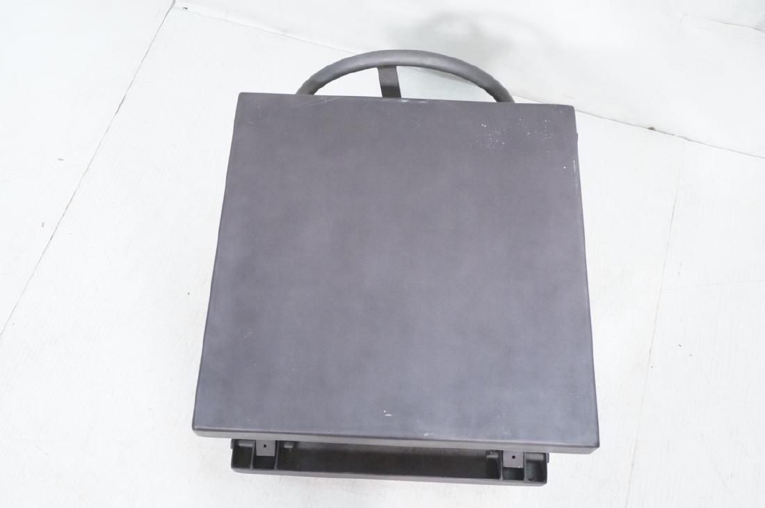Restoration Hardware Industrial Side Table. Heavy - 6