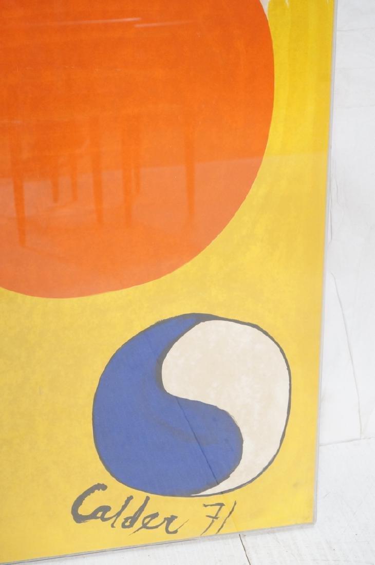 ALEXANDER CALDER Print. White and yellow ground w - 2