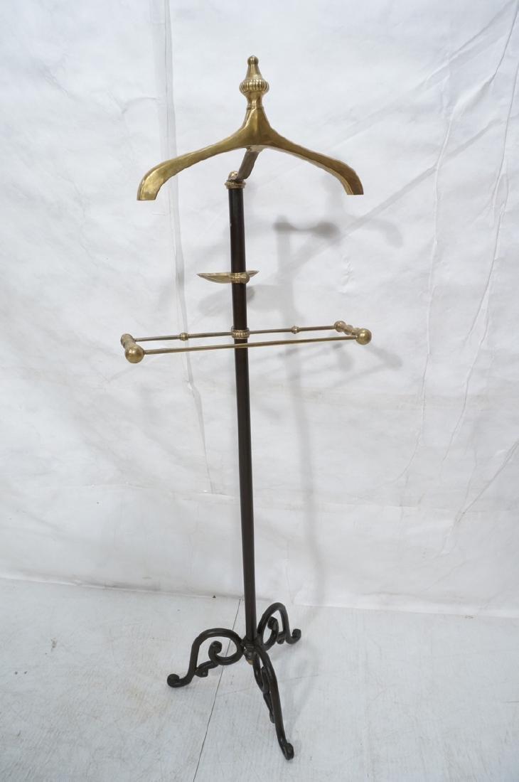 Modernist Italian Style Brass & Metal Valet. Deco - 2
