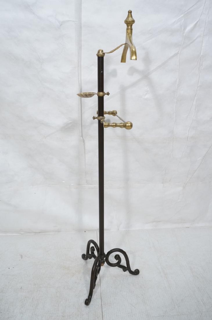 Modernist Italian Style Brass & Metal Valet. Deco - 3