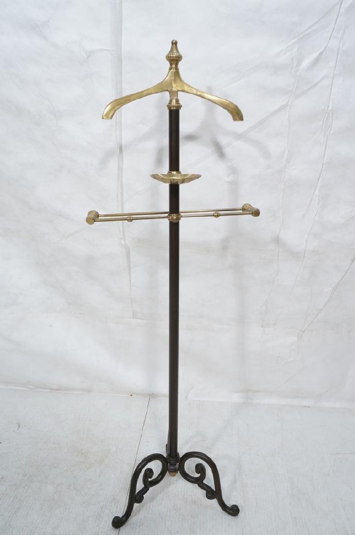 Modernist Italian Style Brass & Metal Valet. Deco - 4