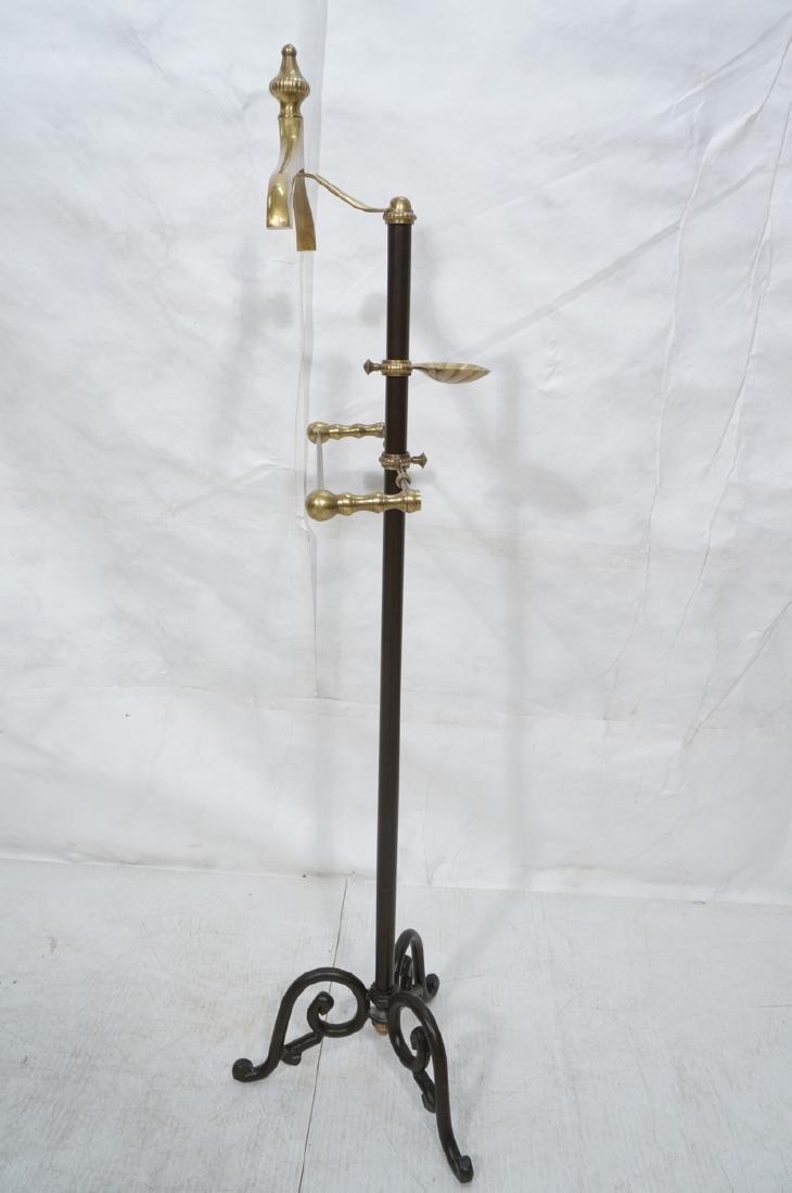 Modernist Italian Style Brass & Metal Valet. Deco - 5