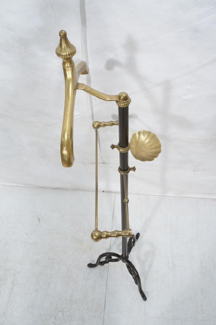 Modernist Italian Style Brass & Metal Valet. Deco - 6