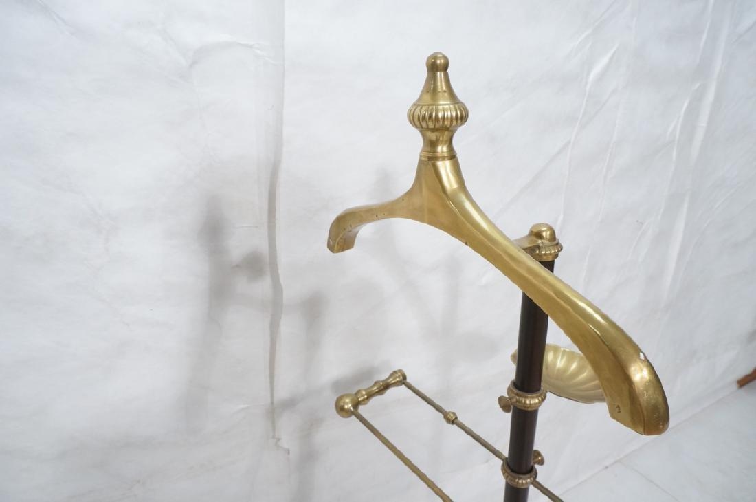 Modernist Italian Style Brass & Metal Valet. Deco - 7
