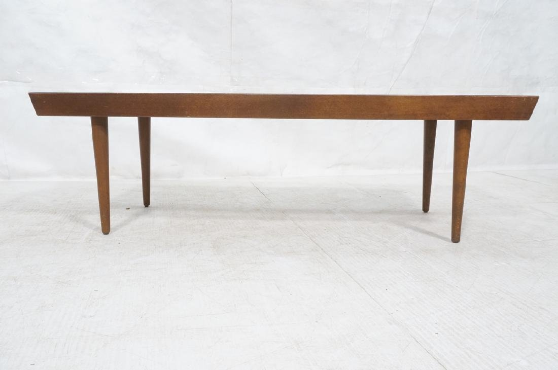 Modernist Slat Bench Coffee Table. - 2