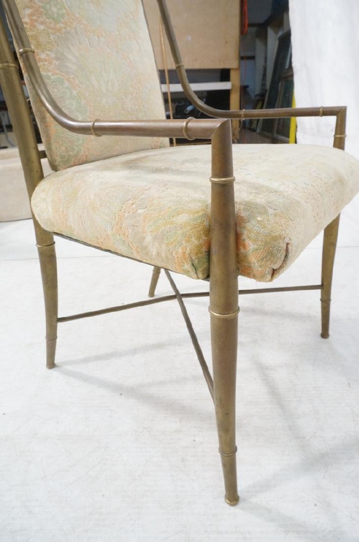 Pr Bronze Finish MASTERCRAFT  Dining Chairs. Bras - 10