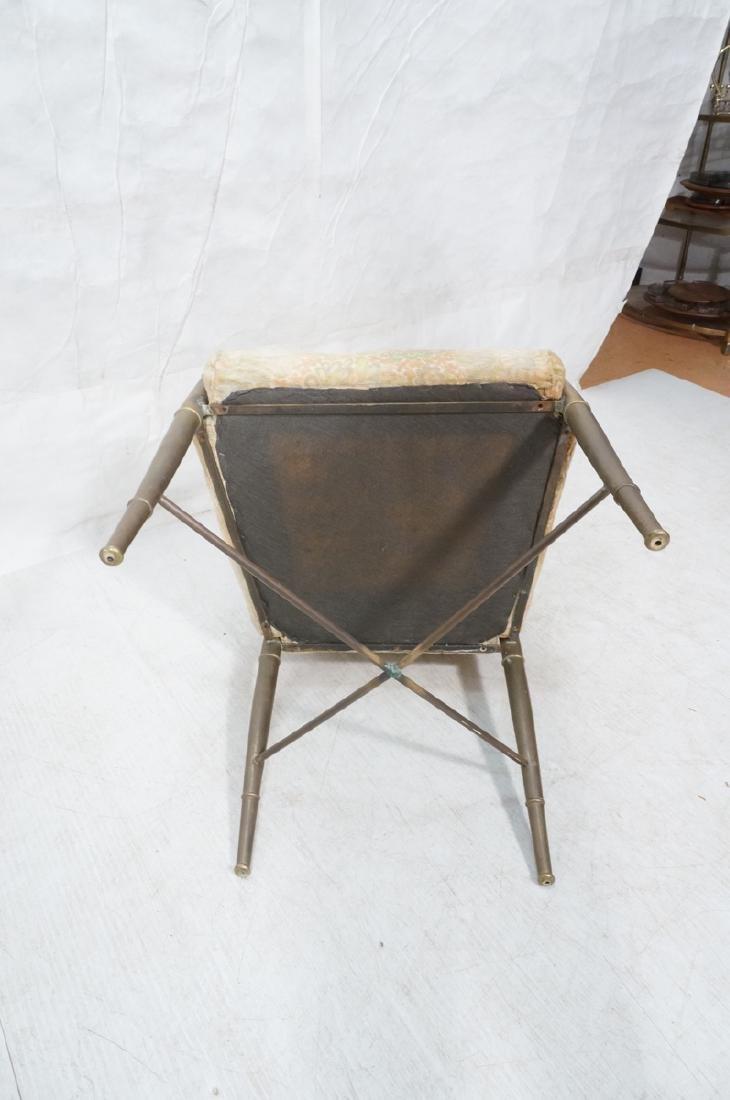 Pr Bronze Finish MASTERCRAFT  Dining Chairs. Bras - 6