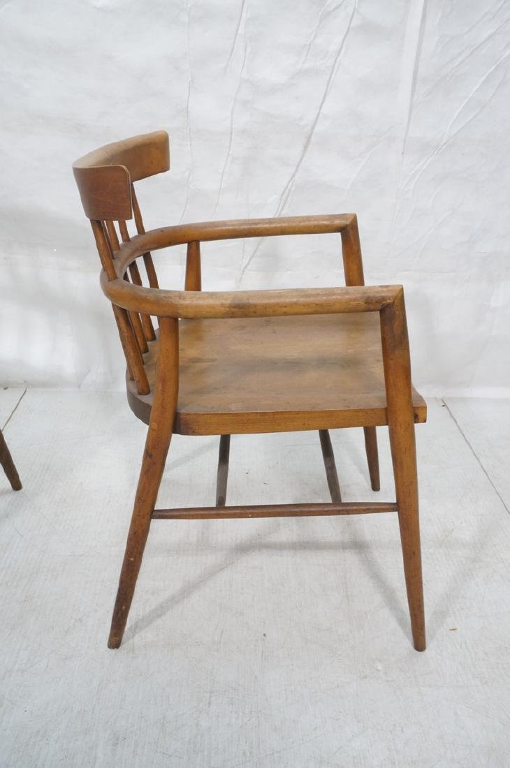 Pr PAUL MCCOBB Maple Captains Chairs. American Mo - 5