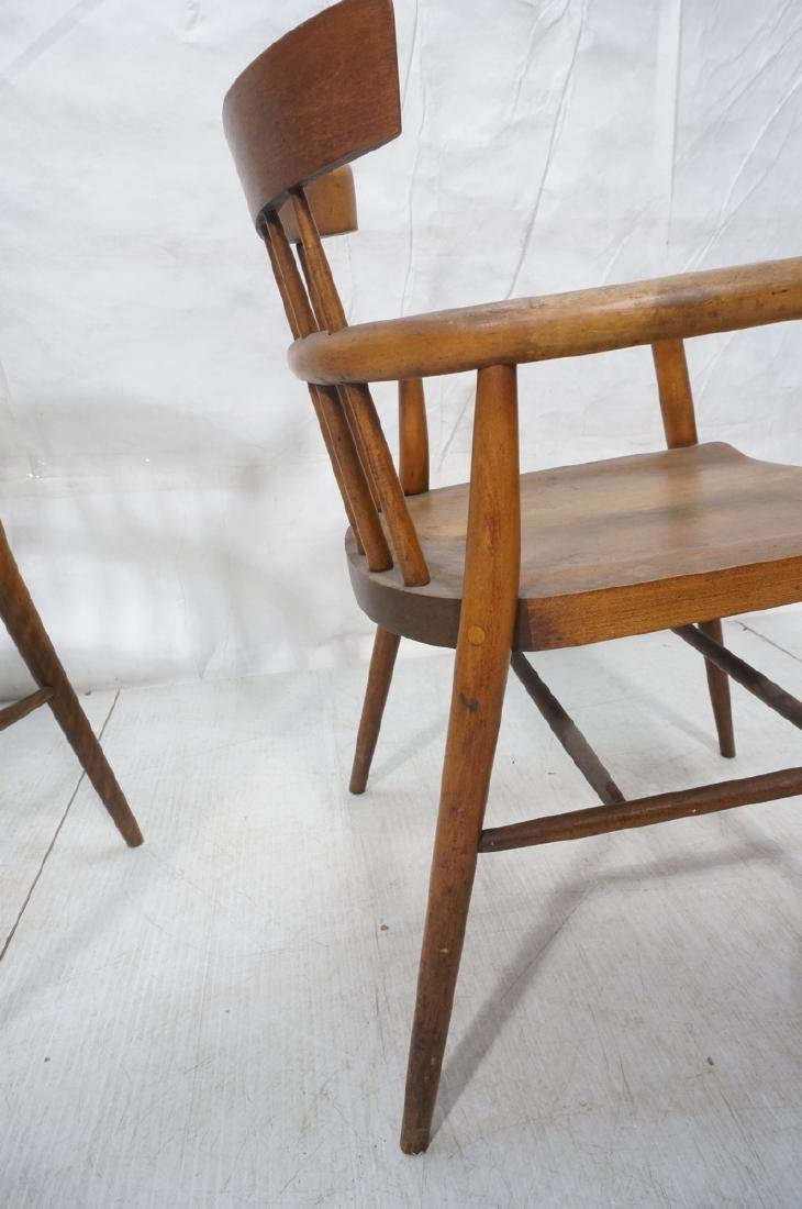 Pr PAUL MCCOBB Maple Captains Chairs. American Mo - 7