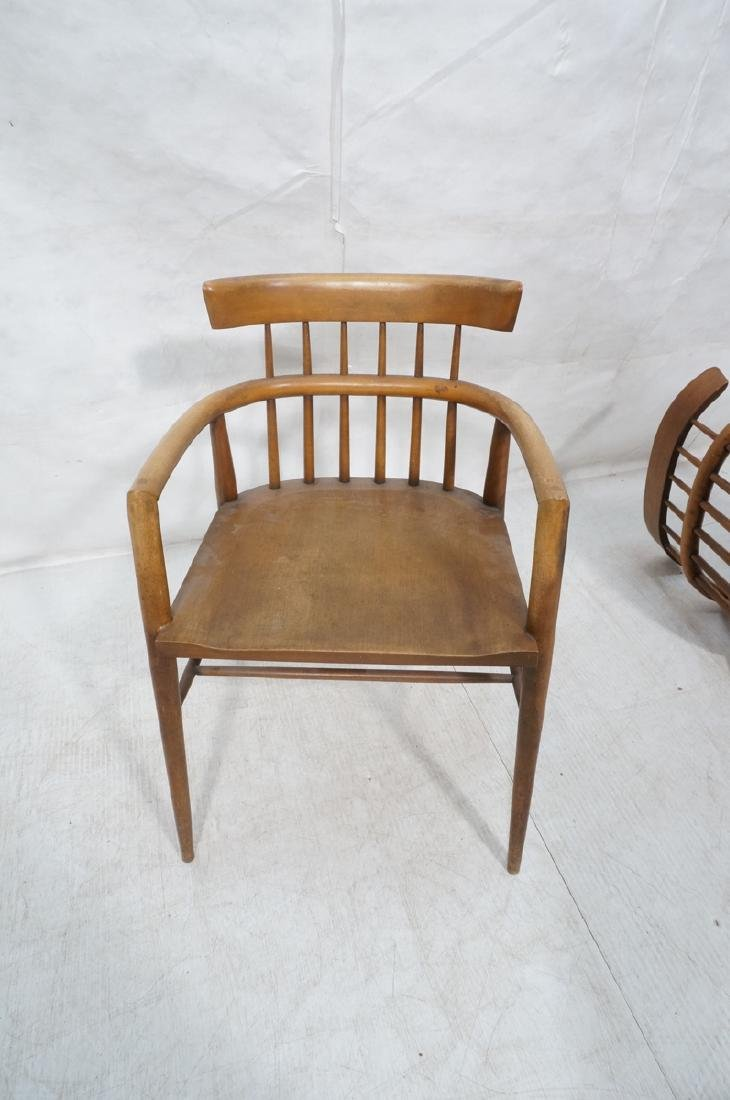 Pr PAUL MCCOBB Maple Captains Chairs. American Mo - 9
