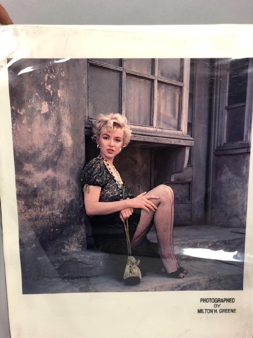 Marilyn Monroe Original Lab Display Print.  Dye T - 2