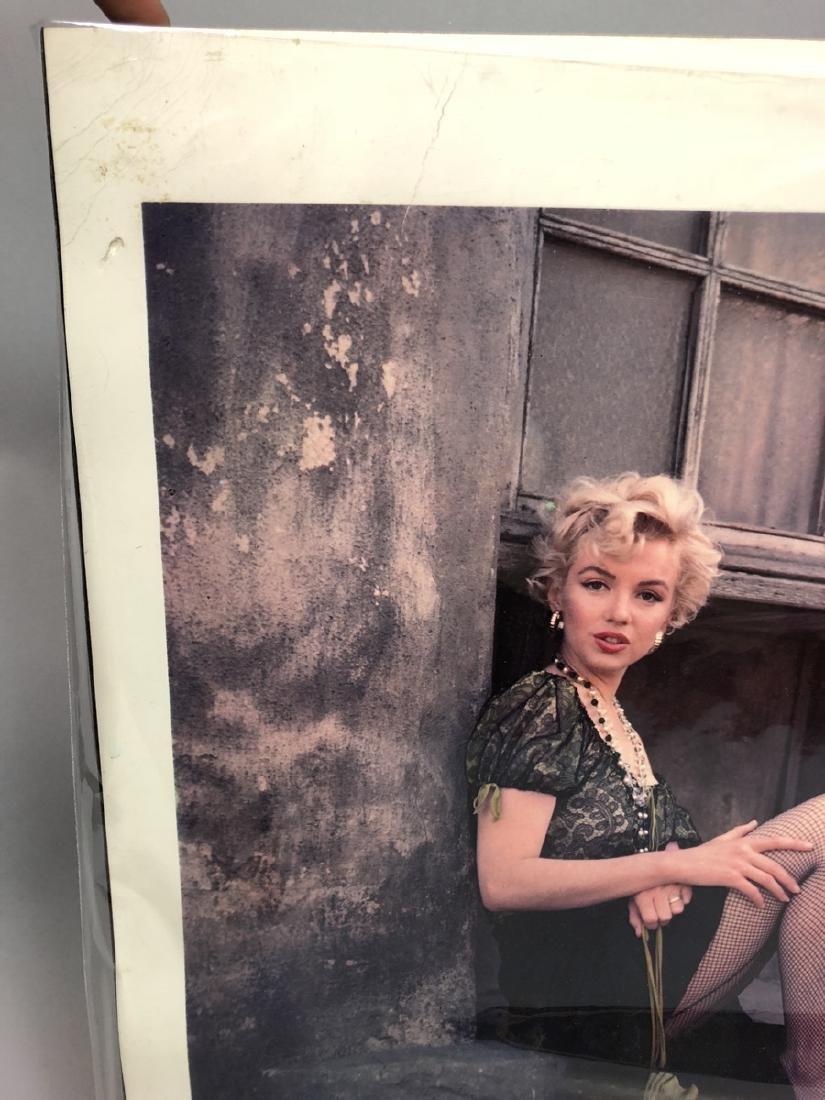 Marilyn Monroe Original Lab Display Print.  Dye T - 3