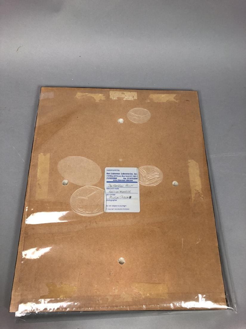 Marilyn Monroe Original Lab Display Print.  Dye T - 8
