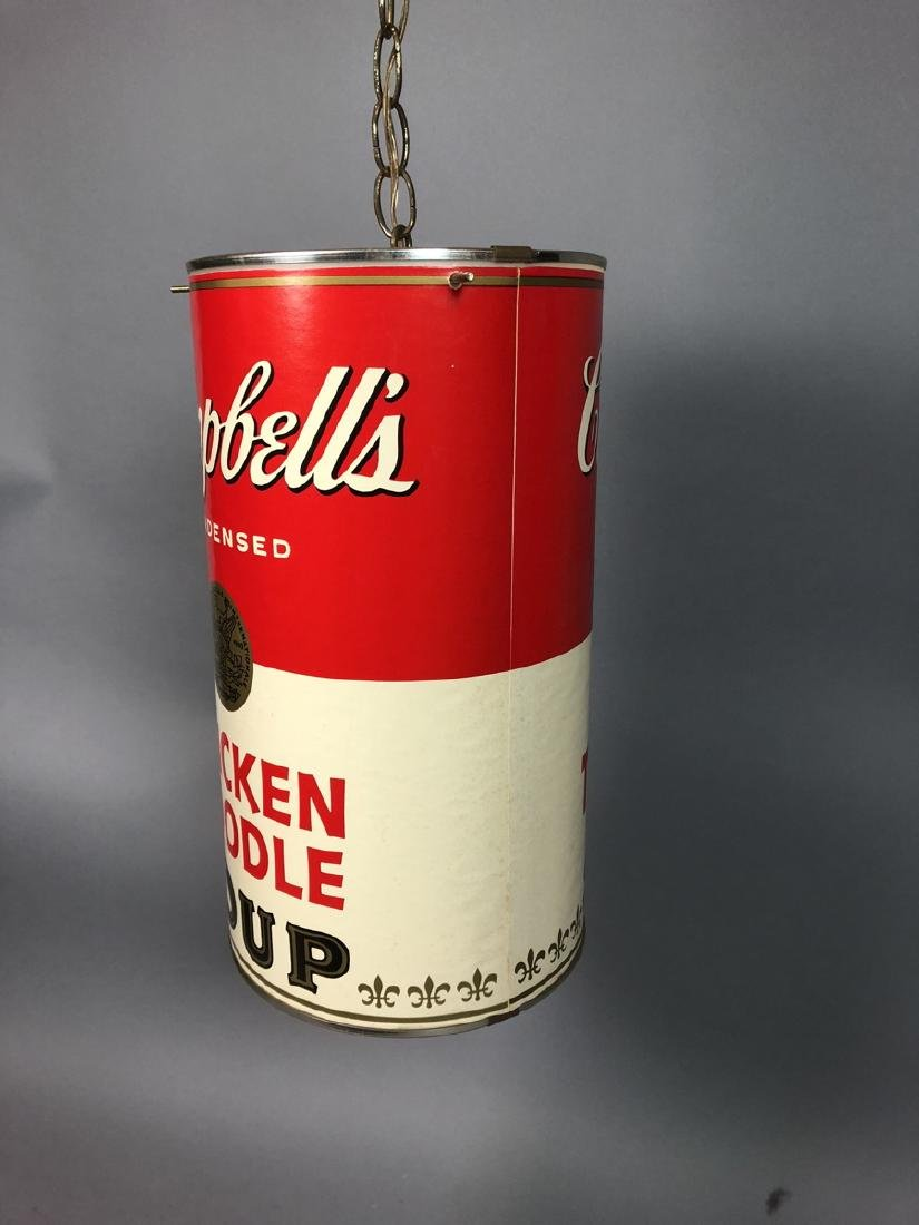 Campbell's Soup Hanging Pendent light. Chicken No - 2