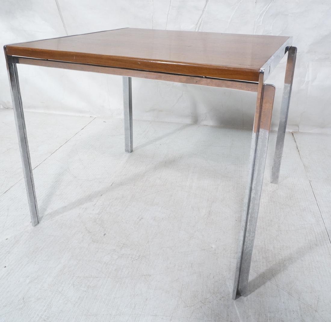 Stow,Davis Occasional Side Table. Walnut top with