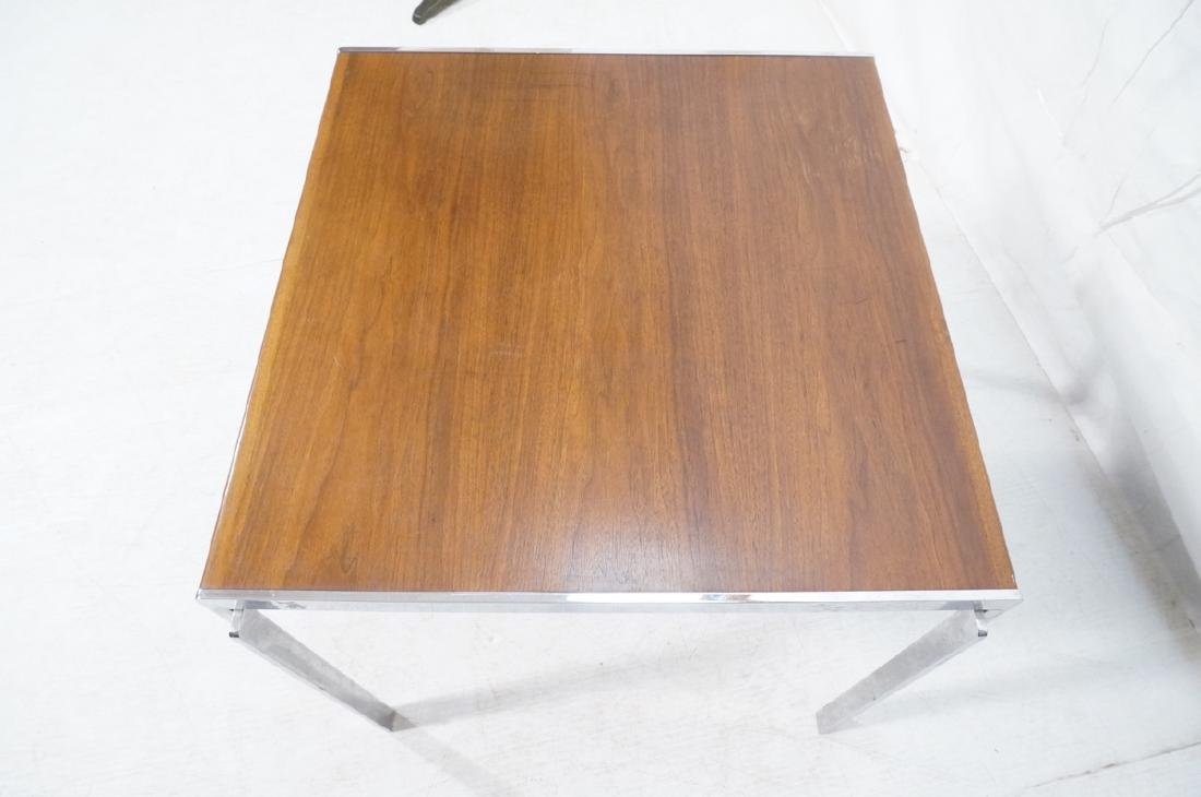 Stow,Davis Occasional Side Table. Walnut top with - 7