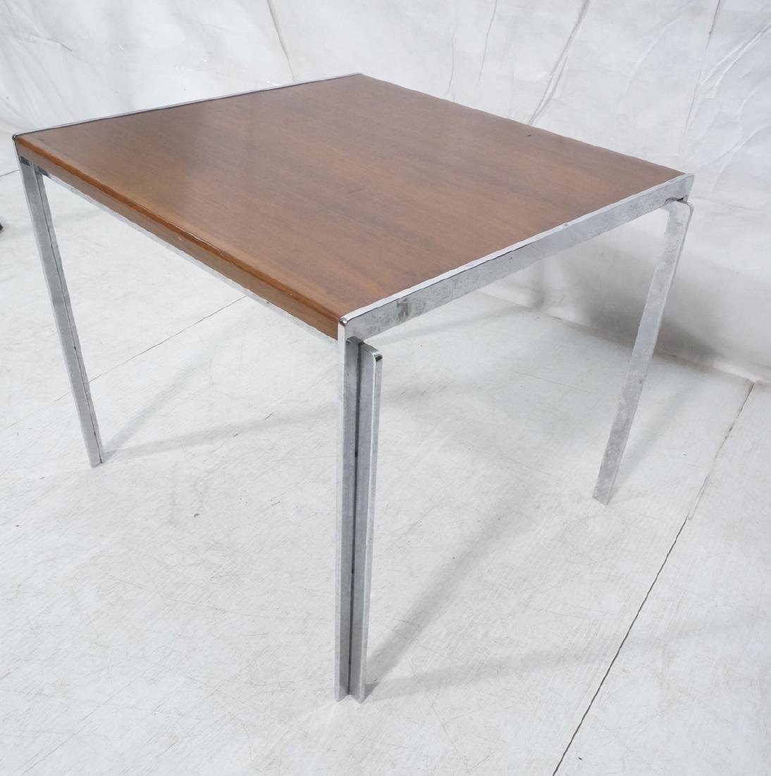 Stow,Davis Occasional Side Table. Walnut top with - 9