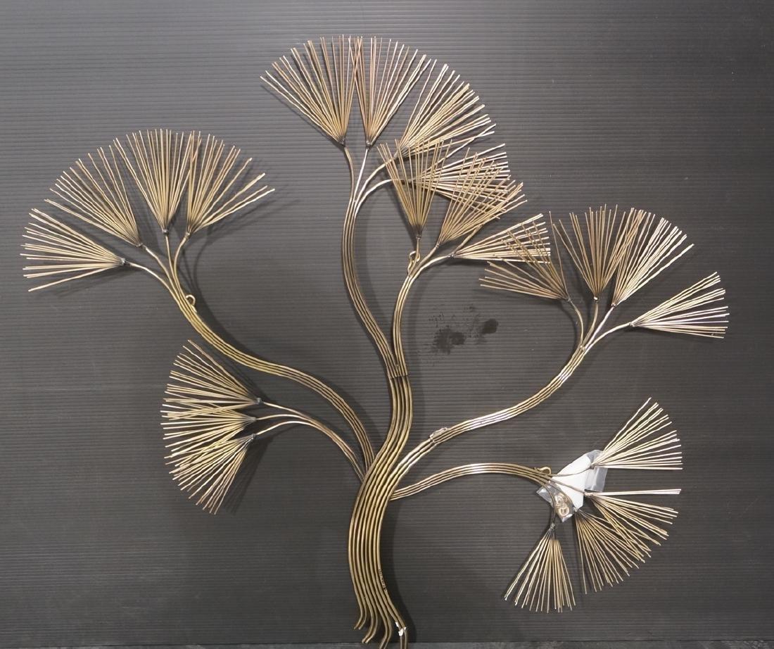 C. JERE Tree Branch Brass Wall Sculpture. Stylize