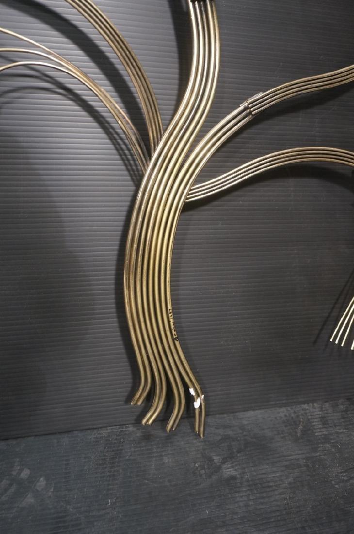 C. JERE Tree Branch Brass Wall Sculpture. Stylize - 5