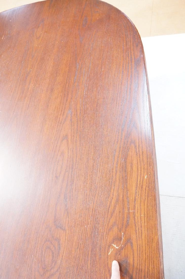 Lg Dark Wood Conference Office Table. HERMAN MILL - 6