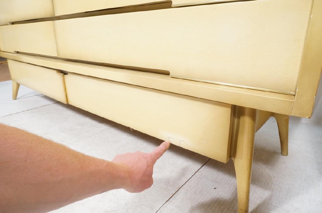 4pc Blond Mahogany Italian Style Bedroom Set. 2 n - 10