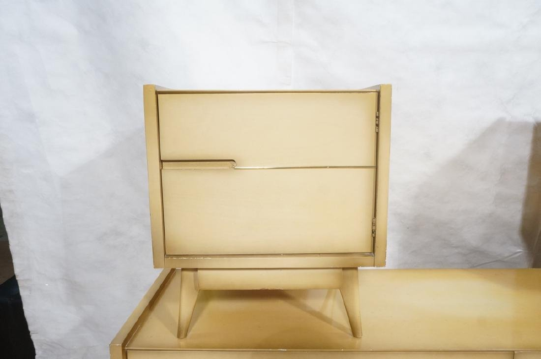 4pc Blond Mahogany Italian Style Bedroom Set. 2 n - 2