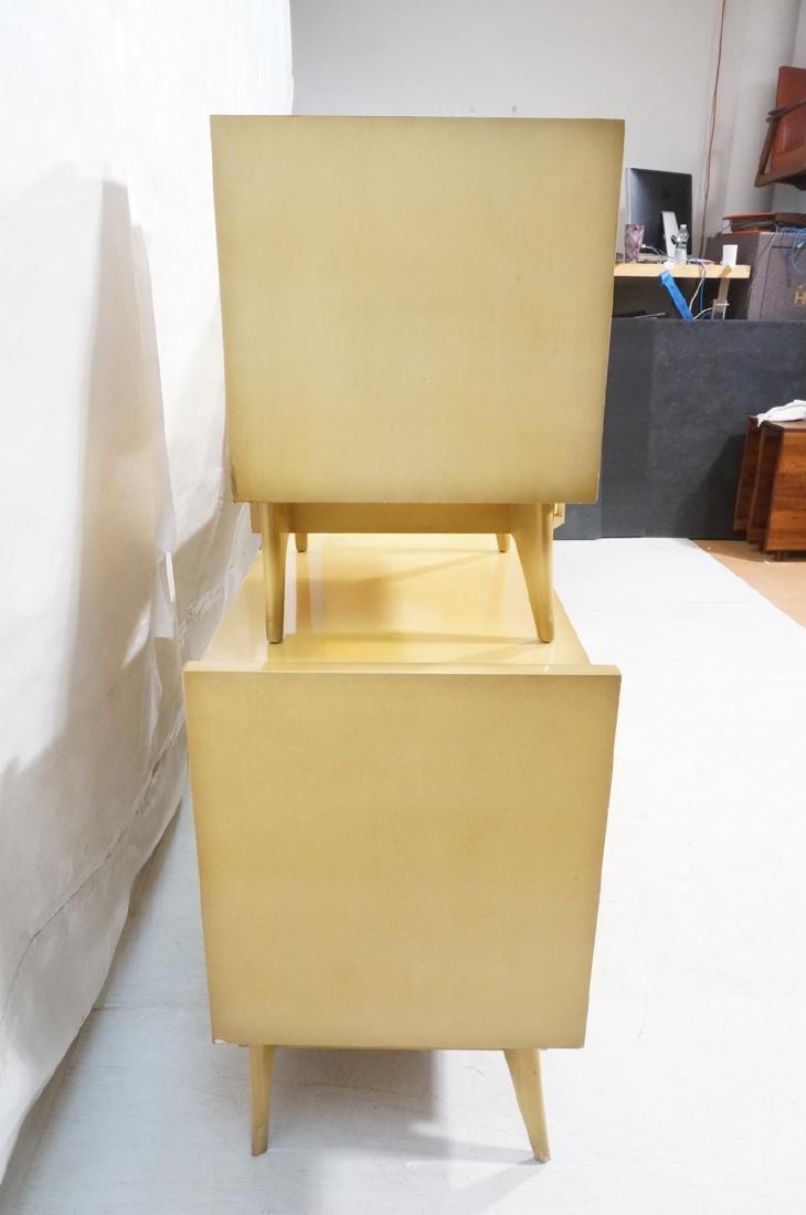 4pc Blond Mahogany Italian Style Bedroom Set. 2 n - 3