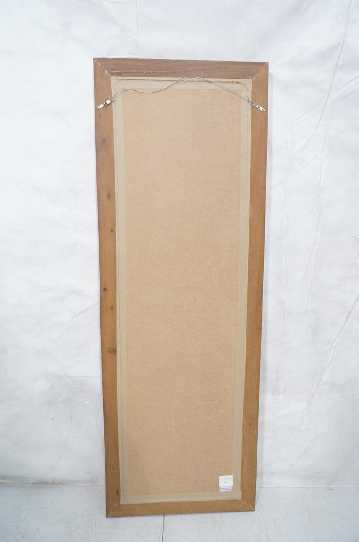 Handmade Modernist Sculptural Wood Mirror. Square - 10